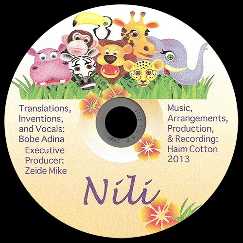Nili – Children's Songs in Yiddish