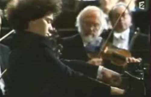 Kissin-Karajan Tchaikovsky Piano concerto n°1 – Interviews