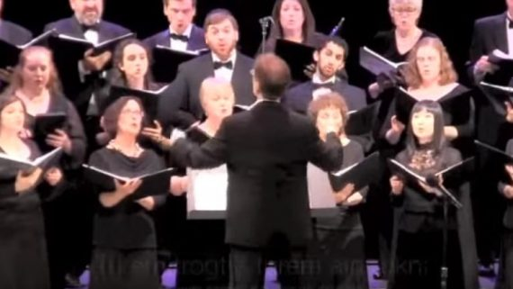 """America"" (Yiddish Choral Music about Mount Rushmore)"