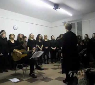 Oyfn Pripetchik – Coro Alicanto