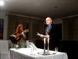 """""""Tumba Tumba"""", a Yiddish song at Beis Warszawa"""