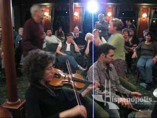 """Helene Domergue leads Yiddish song """"Sha, Shtil"""""""