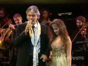 "Andrea Bocelli And Liel - ""Ray of Hope"""
