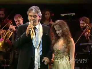"Andrea Bocelli And Liel – ""Ray of Hope"""