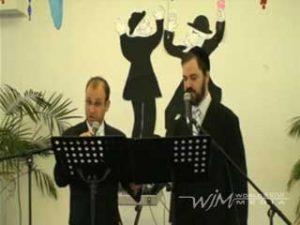 Cantors Barry Braun & Ezra Sher Sing Adon Olam