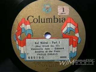 Pablo Casals – Kol Nidrei (1923)