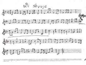 Di shvue - the anthem of The Bund