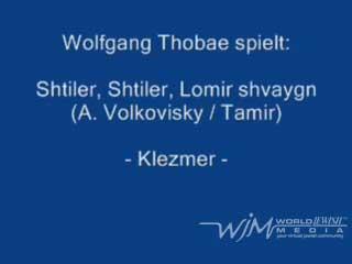 Shtiler, Shtiler, Lomir shvaygn – Klezmer Accordion