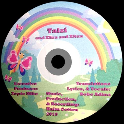 """""""Talzi"""", Canciones de Cri-Cri tradicional en Yiddish para niños (CD 4)"""