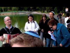 Minian Juvenil Tishrei 5771 y Tashlij en Chapultepec Talmud Tora Bet-El