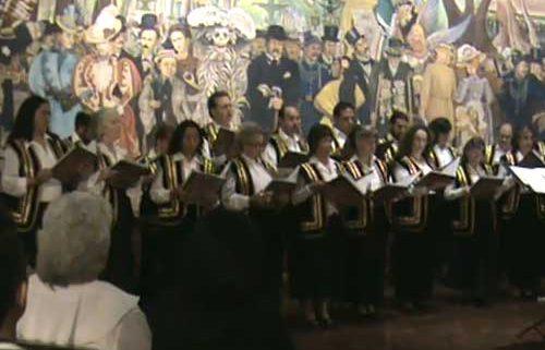 El Coro Rinah – Pitchu li, desde el Museo Diego Rivera