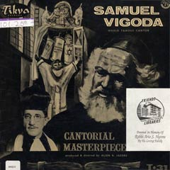 Cantorial Masterpieces
