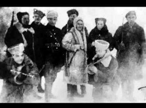 Song of Jewish Partisans. Stil di Nakht.The Night is still