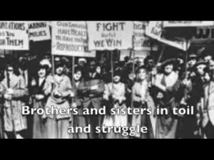 Di Shvue (song of the Jewish Bund)