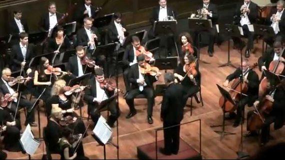 Rodeo con la Orquesta de Cámara de Israel en Bellas Artes, México en Homenaje a Daniel Liwerant