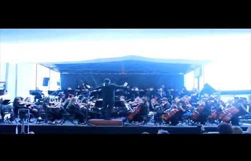 Hava Naguila, y La Bamba en un gran concierto de la Orquesta Kol Shalom de la Comunidad Judía de México