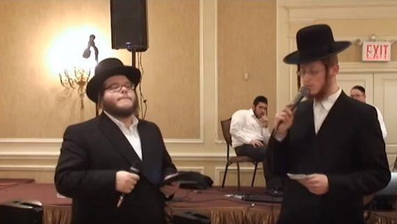 Levy Falkowitz Duet with Badchen Avrum Mordche Schwartz – Mitzvah Tanz
