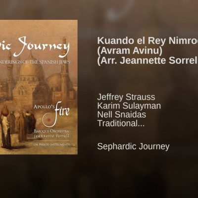 Kuando el Rey Nimrod – Jeffrey Strauss · Karim Sulayman