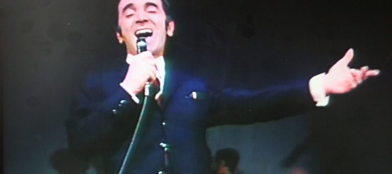 Charles Aznavour, renowned French singer, dies at 94; he leaves us his Yiddishe Mame as legacy.