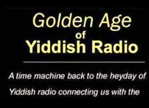 Golden age of Yiddish radio