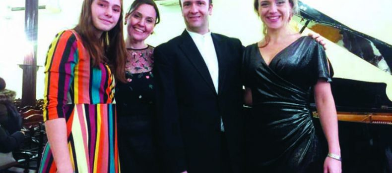 The dance of musical notes at Izmir Bet Israel Synagogue