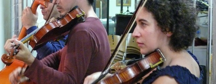 Atelier de musique klezmer les Klezmorimlekh