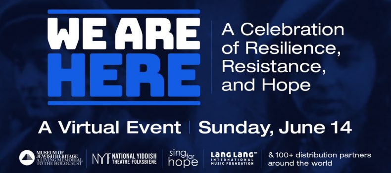 """We Are Here: A Celebration of Resilience, Resistance, and Hope"""