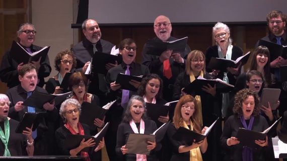 """Makhts Of!"", Yiddish Purim Song performed by The Jewish People's Philharmonic Chorus"