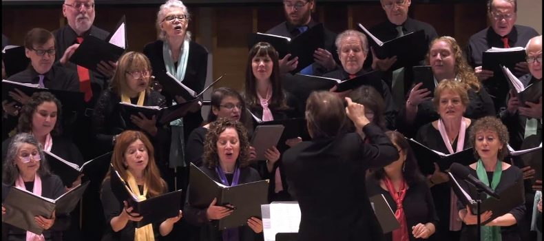 Traditional Passover songs: Mu Adabru, Dayeynu & Oifn Nil / Jewish People's Philharmonic Chorus / JPPC