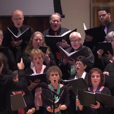 """Partizaner-himen"" (Partisans' Hymn) or ""Zog nit keyn mol,"" performed by The JPPC"