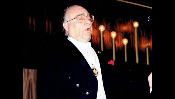 Cantor David Bagley Sings Yiddish Medley, 1989 Moscow Conservatory