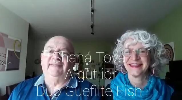 Shana Tova. A Gut Yor – Duo Gefilte Fish