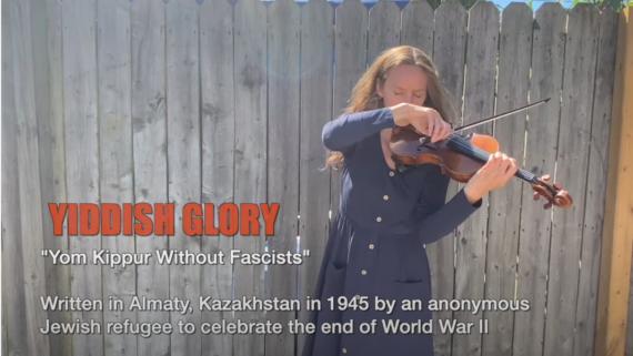 Watch Yiddish Glory: Yom Kippur Without Fascists
